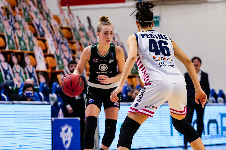 Virtus Eirene Ragusa - Dinamo Sassari, Mariella Santucci